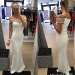 Valge pikk kleit