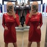 Punane glitter kleit