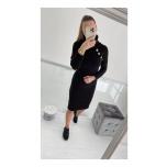 Must nööpidega kampsun/kleit