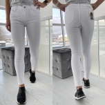 Valged stretch teksapüksid