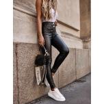 Mustad kõrgema värvliga nahaimitatsiooniga püksid