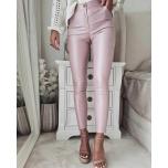 Roosad nahksed püksid