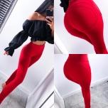 Punased retuuspüksid stretch
