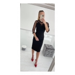Must pidulik midi kleit