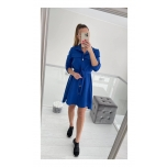Sinine shirtdress