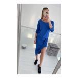 Sinine A-sümeetriline  kleit