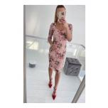Roosa/Lilleline pitsist midi kleit
