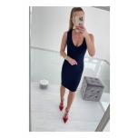 Tumesinine midi kleit