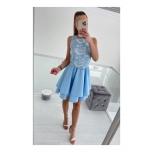 Helesinine skater kleit