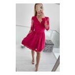 Roosa pitsist skater kleit