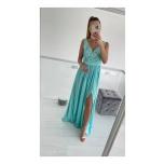 Sinakas/Roheline pikk kleit,lõhikuga