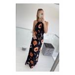 Lilleline pikk kleit vööga