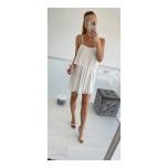 Valge mini kleit