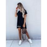 Must vabalt langev kleit
