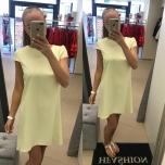 Helekollane A-lõikeline kleit