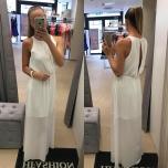 Pikk valge kleit
