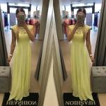 Kollane pikk kleit