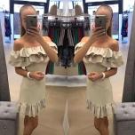 Beez satsidega mini kleit