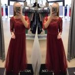 VeiniPunane pikk kleit