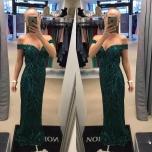 Roheline pikk kleit