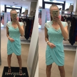 Sinakas/Roheline kleit