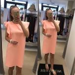 Lõheroosa kleit
