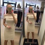 Beezikas/Roosakas Off Sholder midi kleit
