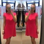 Erkroosa A-lõikrline kleit