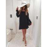 Must Hispaania stiilis kleit